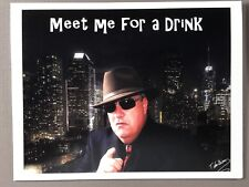 Funny GANGSTER-HAND MADE NOTE CARDS - Blank Inside - Different Slogans on Front