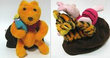 Winnie the Pooh Tigger Reversible Plush Topsy Turvy 3 In 1 Story Telling Doll
