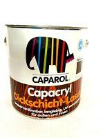 6,62 EUR/L | 2,5L |CAPACRYL DICKSCHICHT LASUR |CAPAROL | FARBLOS