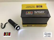 1 X LED Autolamps Telescopic LED Torch 105mm Flash Light Pocket Size Dog Walking