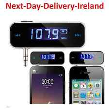 3.5mm Wireless Bluetooth FM Transmitter MP3 Player Car Music Charger iPhone 6 5
