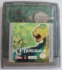Disney's Dinosaur Nintendo Game Boy Color plays in Advance SP System