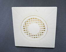 SQUARE POINT FLOOR WETROOM SHOWER DRAIN Plastic150mmX150mm balcony terrace