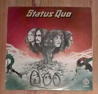 Status Quo – Quo Vinyl LP Album 33rpm 1974 Vertigo – 9102 001