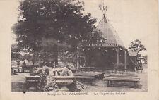 LA VALBONNE le camp le foyer du soldat écrite 1916