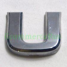 """08-13 Nissan Rogue Back Door Liftgate Letter """"U"""" Emblem Rear Badge Nameplate"""