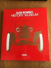Alfa Romeo History Museum Arese by Garcia 1979 in Jacket & Slipcase