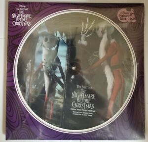 """The Nightmare Before Christmas - Soundtrack - 2 Picture Discs 12"""" Vinyl - NEW"""