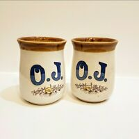 Vintage OJ Cups Made In Japan  Set Of 2