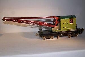 1920's Lionel #219 Standard Gauge Crane, Original