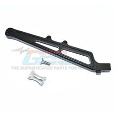 GPM Racing Aluminum Rear Chassis Brace & Collar Black : Limitless / Infraction