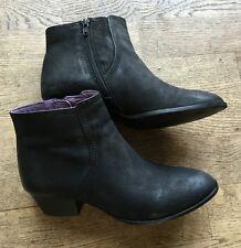 GÖRTZ Shoes Stiefeletten Stiefel Boots Leder Schwarz Gr.39 nur 2x getragen NP90€