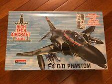 NEW SEALED High Tech Aircraft F-4 C/D Phantom Model Kit by Monogram