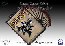 Bushido BNIB Kage Kaze Card Pack 1 GCTBKK001