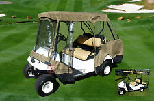"""Golf Cart Driving Enclosure for 4 seater with 2 seater roof up to 58"""""""