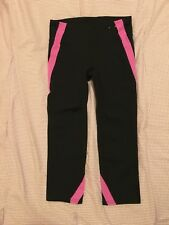 Women's Activewear Capri Pink Stripes Leggings by Gap Size XS