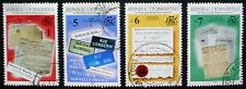 MAURITIUS 1993: SUMMIT OF FRENCH SPEAKING NATIONS: SET OF 4 USED STAMPS.