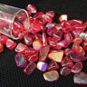 energy red titanium rainbow aura Crystal Gravel Tumble Stone Reiki quartz 50g