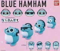 Blue ham ham All 4 Types Full Comp Capsule Toy Figure Doll Mascot BANDAI