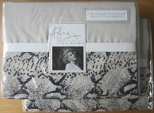 KYLIE AT HOME Housewife Pillowcase PAIR New ADIRA PEBBLE