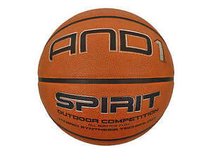 Official AND1 Spirit Outdoor/Indoor Competition Game Basketball Ball Size 7