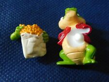 Variante Crazy Crocos, Freddy Fettfleck mit steckbarer Pommestüte - Ü-Ei 1993