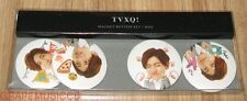 TVXQ! TOHOSHINKI MAX CHANGMIN MAGNET BUTTON SET SM LOTTE POP UP STORE GOODS