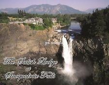 Washington - Snoqualmie Falls - Salish Lodge - Flexible Fridge Magnet