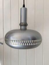 SUPERBE Lustre Suspension LAMPE   Vintage An 70's  INOX METAL TRES BELLE QUALITE