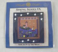At the Shore Mill Hill Buttoned & Beaded Spring Series IX Kit MHCB179 Lighthouse