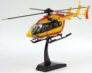 Model Helicopter EC-145 Safety Civil Dragon 1/43 EC145 Firefighters