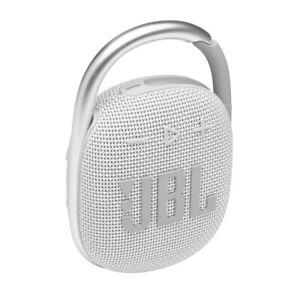 JBL Clip 4 Ultra-portable Waterproof SpeakerWhite