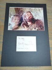 """Michael Palin Signed Autograph 20x30 cm """"Monty Python"""" PASSEPARTOUT LOOK"""