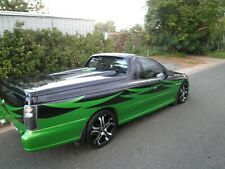 TWIN CHARGED VY UTE SS COMMODORE SUPERCHARGED TURBO M90 PROJECT DRIFT RACE DRAG