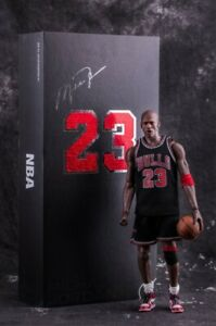 Real Masterpiece Michael Jordan 23 Action Figure 1/6 New In Box Fast Shipping