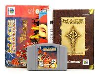 "Nintendo 64 N64 NTSC-U ""Mace: The Dark Age"" Modul, Anleitung & OVP"