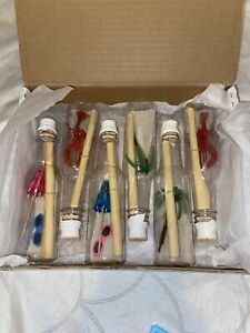 Martha Stewart By Mail beach in a bottle notes invitations 2 Sets Of 6