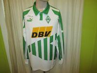 """Werder Bremen Original Puma Langarm Heim Trikot 1994/95 """"DBV"""" Gr.L"""