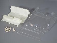 Tamiya 1/10 Toyota Hilux Bruiser Plastic Seat Steering Wheel Window Windshield C