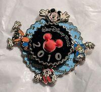 2010 Disney Pin 13412 WDW spinner Minnie & Mickey Mouse, Donald, Goofy MINT HTF