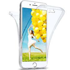 360 Grados Completo Funda Protectora Para IPHONE 8 Plus 7 de Silicona Delgado