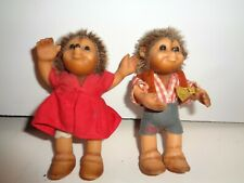 STEIFF GERMANY HEDGEHOG  GIRL & BOY