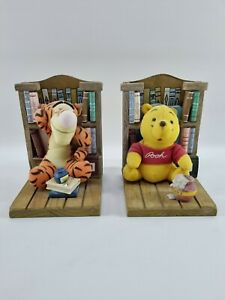 Vintage Tigger And Winnie The Pooh Book Ends