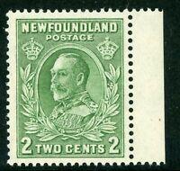 Canada 1932 Newfoundland 2¢ KGV Scott #186 MNH F314