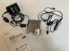 Sony MZ-NH1 Walkman Hi-MD MiniDisc Player Recorder