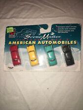 Scene Master Vintage 1950's American Automobiles Authentic HO scale No. 1657