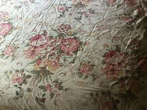 Ralph Lauren GUINEVERE Queen Fitted Sheet MEDIEVAL French Country Floral Print