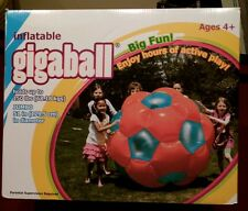 "BRAND NEW 51"" JUMBO! Inflatable GIGABALL! Human Hamster Ball Indoor/Outdoor"