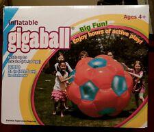 "BRAND NEW 51"" JUMBO! Inflatable GIGABALL! Human Hamster Ball Indoor/Outdoor z"