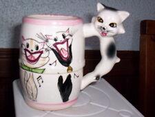 Cute Vintage Porcelain Kitty Cat Kitten Mug Cup